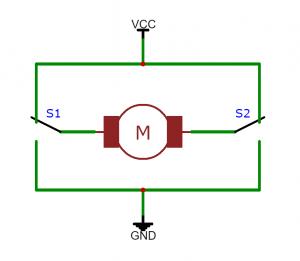 2 switch H-Bridge