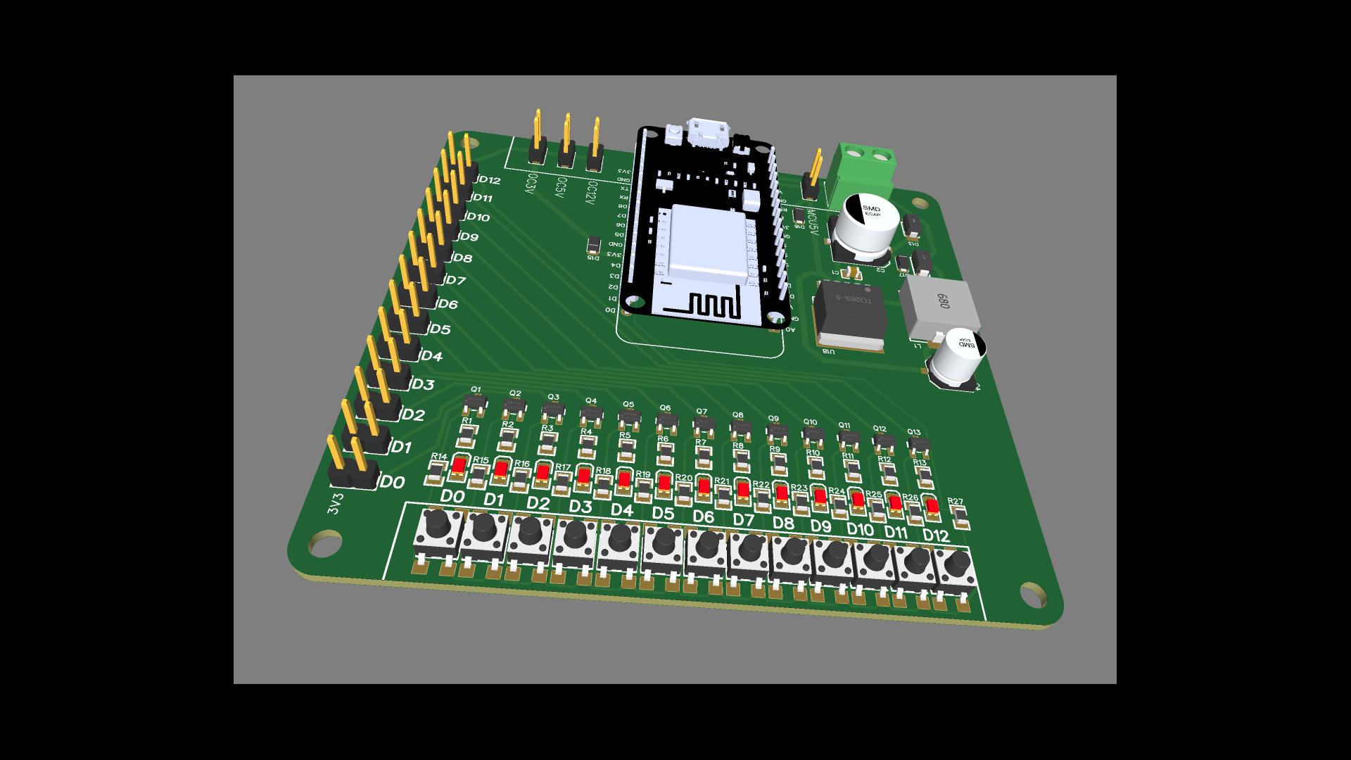 NodeMCU test board