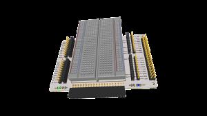 PCB 3D Raspberry Pi 400 Experimenteer HAT plus