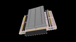 PCB 3D Raspberry Pi 400 Experimenteer HAT