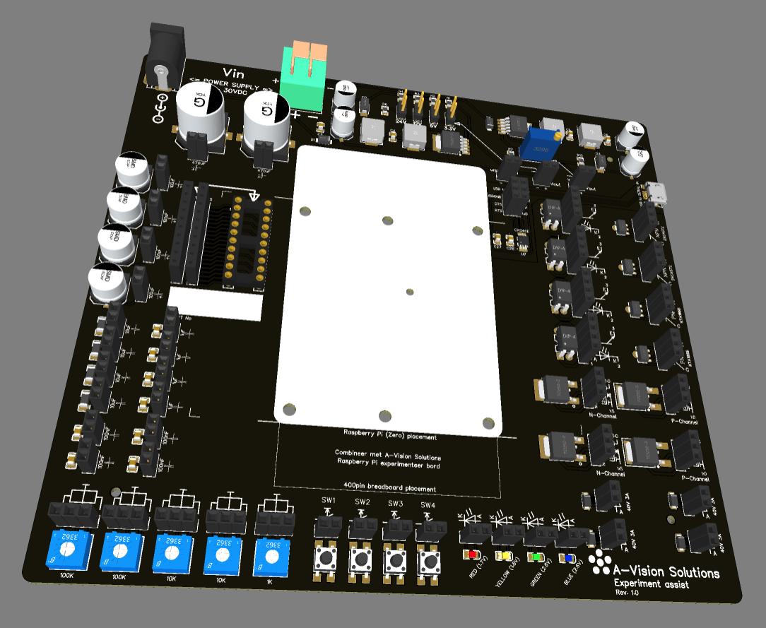 Prototype ondersteuning bord